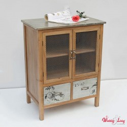 shabby chic vitrine clifford weiss. Black Bedroom Furniture Sets. Home Design Ideas