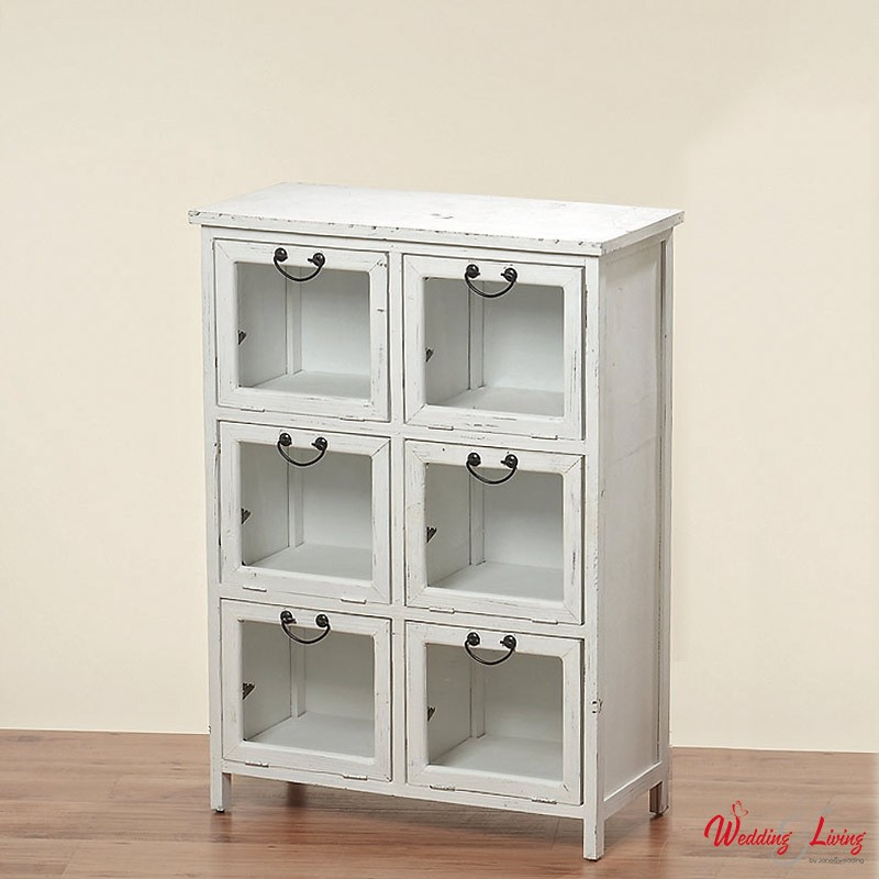 Shabby chic vitrine clifford weiss for Shabby chic vitrine